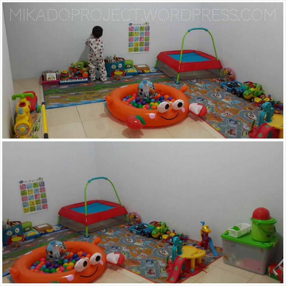 Menyulap Ruang Tamu Menjadi Area Main Anak – MikaDo Project