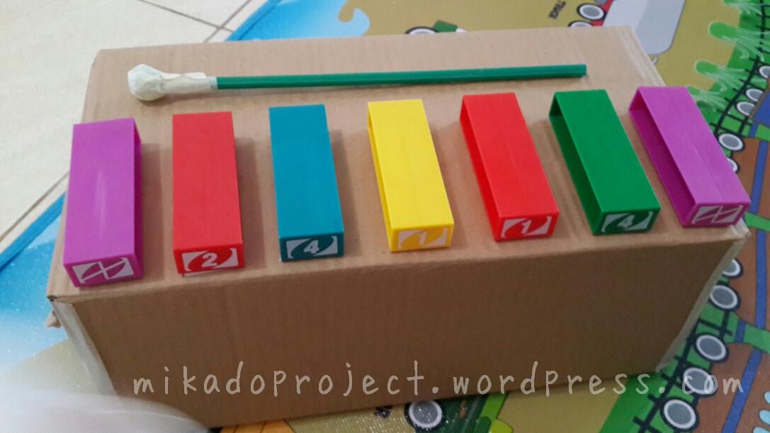 Gitar dari kotak bekas dan karet. image e222eb5f4b